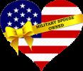 military spouse logo on heart